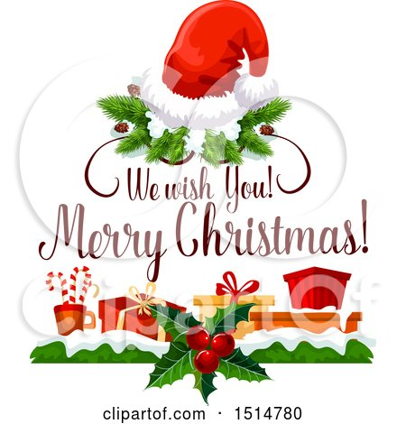 We Wish You A Merry Christmas Clipart Free.