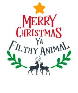 Merry Christmas You Filthy Animal by Cameron Fulton.