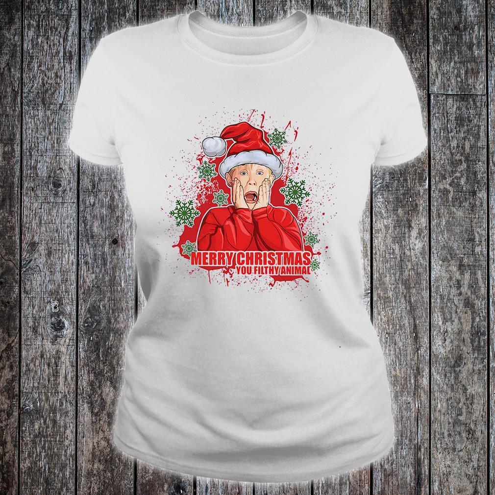 Merry Christmas you filthy animal shirt.