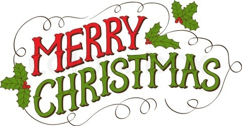 Free merry christmas clipart images.