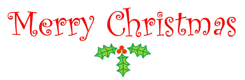 Merry Christmas Clip Art Words & Merry Christmas Clip Art Words.