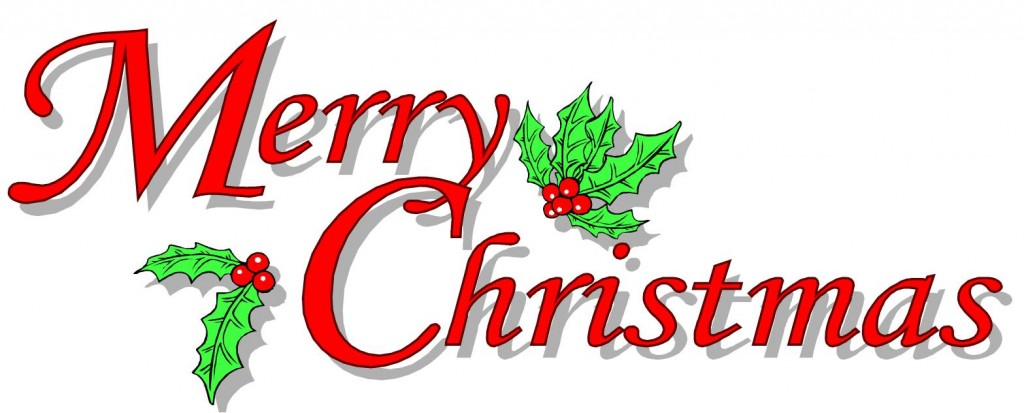 Merry Christmas Clip Art.