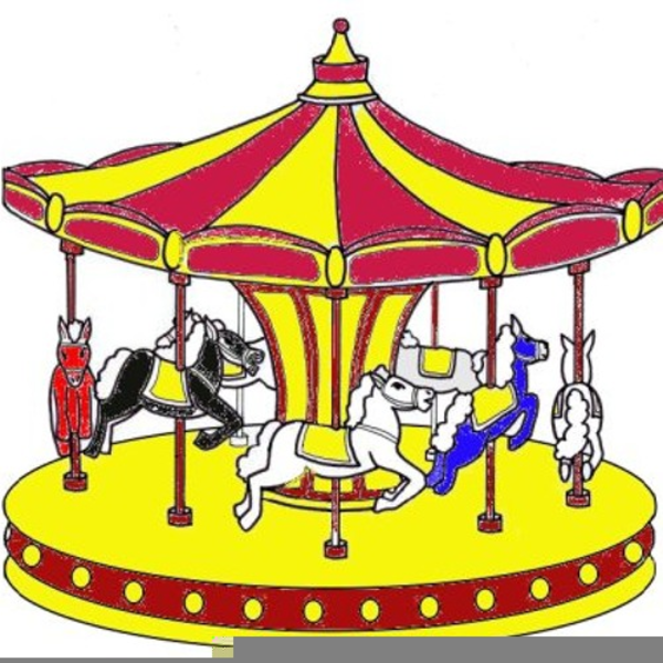 Free Clipart Merry Go Round.