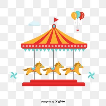 Merry Go Round PNG Images.