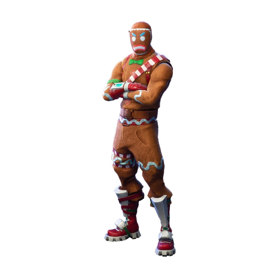 Fortnite Merry Marauder PNG Image.