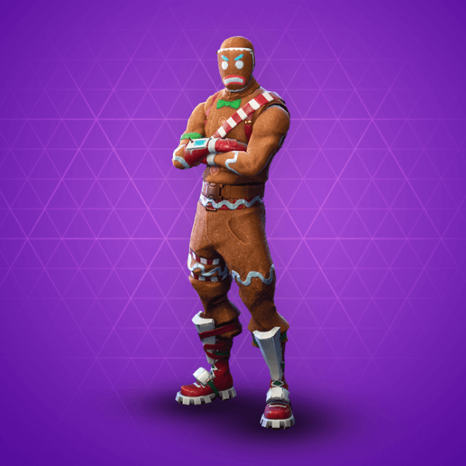 Fortnite Merry Marauder Skin.