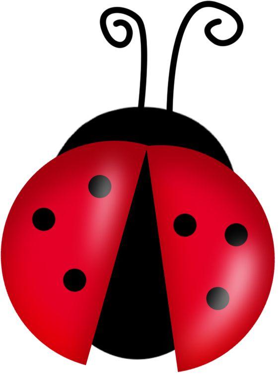 lady bug clip art.