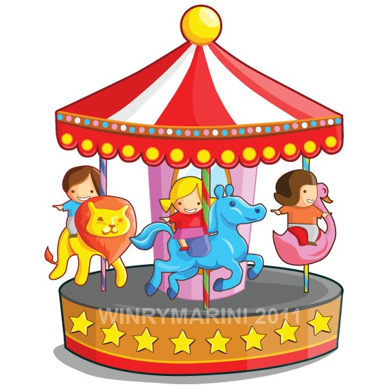 Merry go round clipart » Clipart Station.