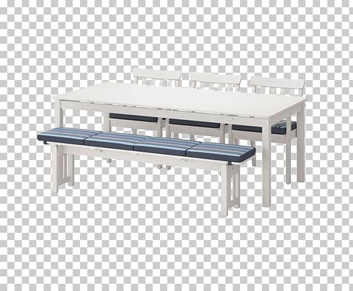 Mesa Banco ikea silla muebles, mesa blanca simple PNG.