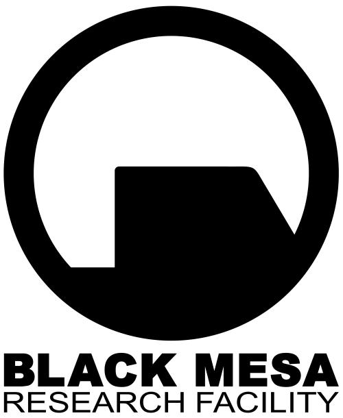 Black mesa Logos.