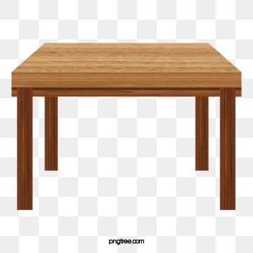 Rectangular Table PNG Images.