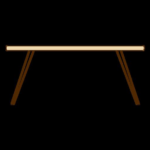 Icono de mesa de oficina.