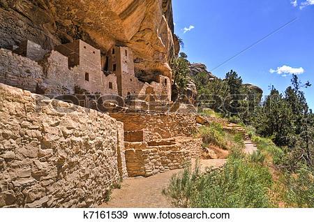 Stock Photograph of Mesa Verde k7161539.