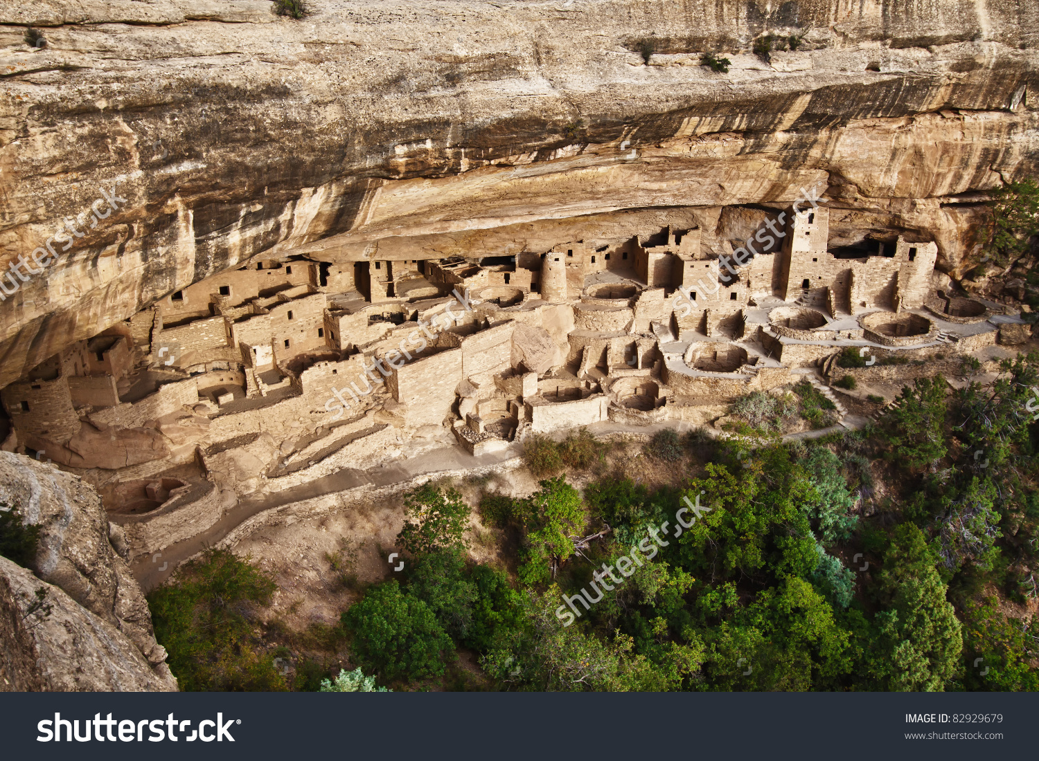 View Cliff Palace Mesa Verde National Stock Photo 82929679.