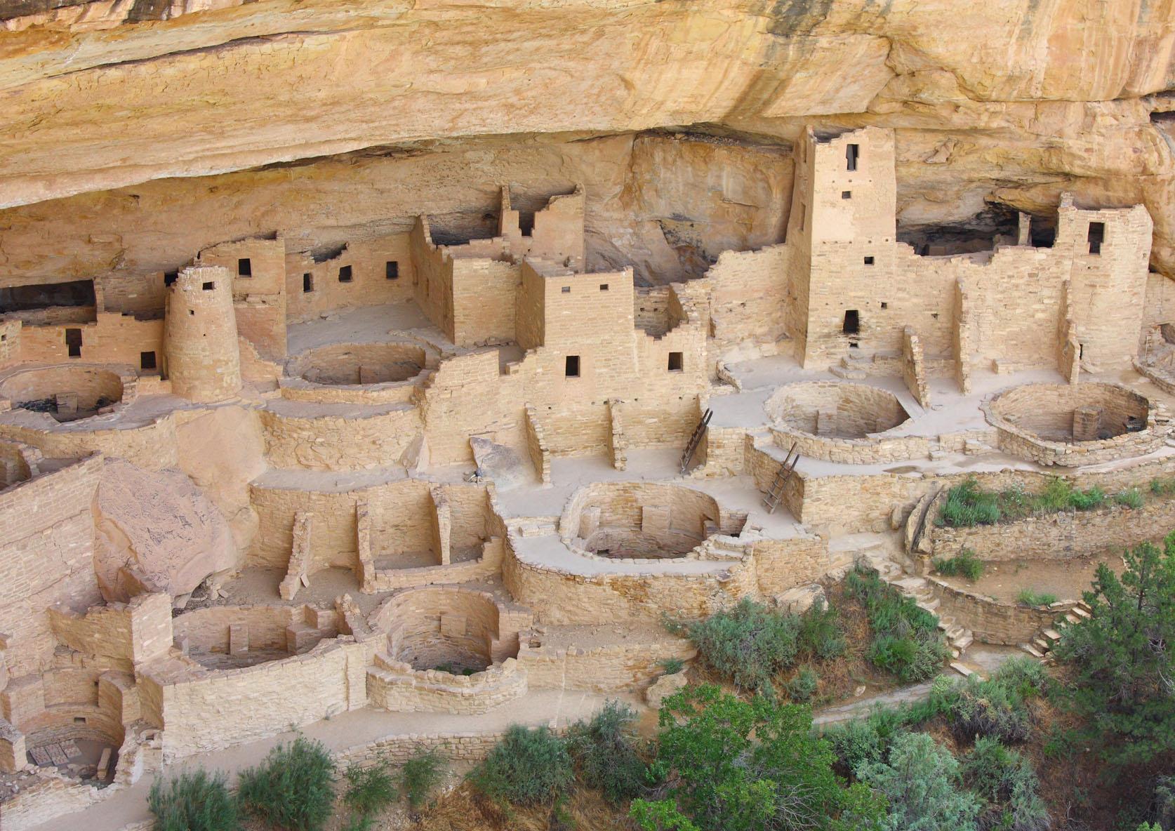 Mesa Verde cliff dwellings. Montezuma County, Colorado. Anasazi.