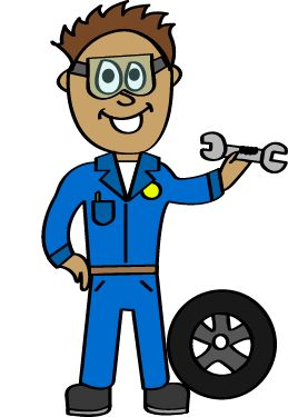 Mechanic Clip Art.