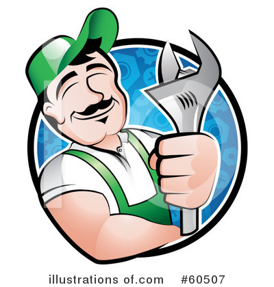 Diesel Mechanic Clipart.