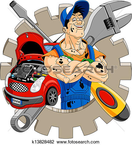 Mechanic Clipart and Illustration. 24,441 mechanic clip art vector.