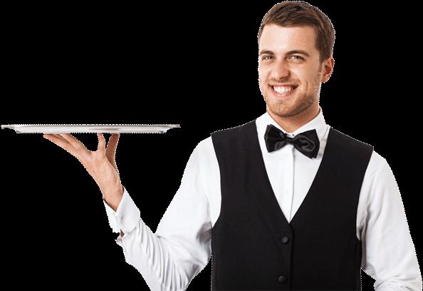 Waiter PNG Free Download #26349.