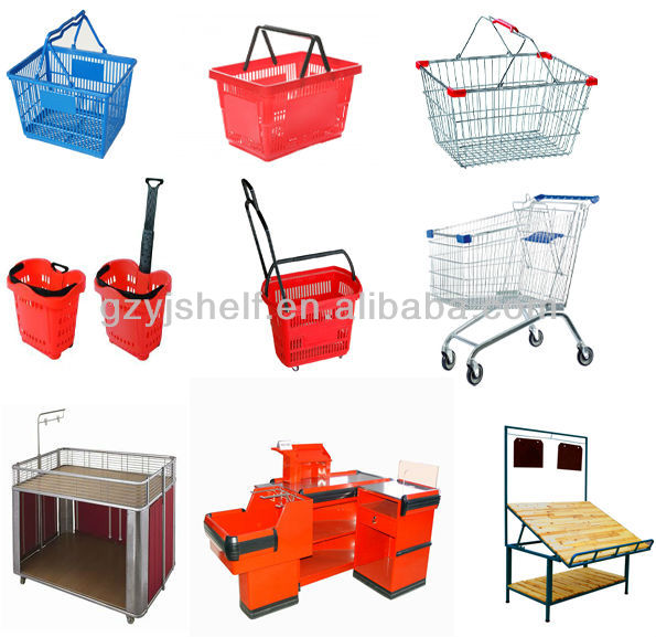 For All Kinds Of Stores Display,Mesh Wire Gondola Shelving Super.