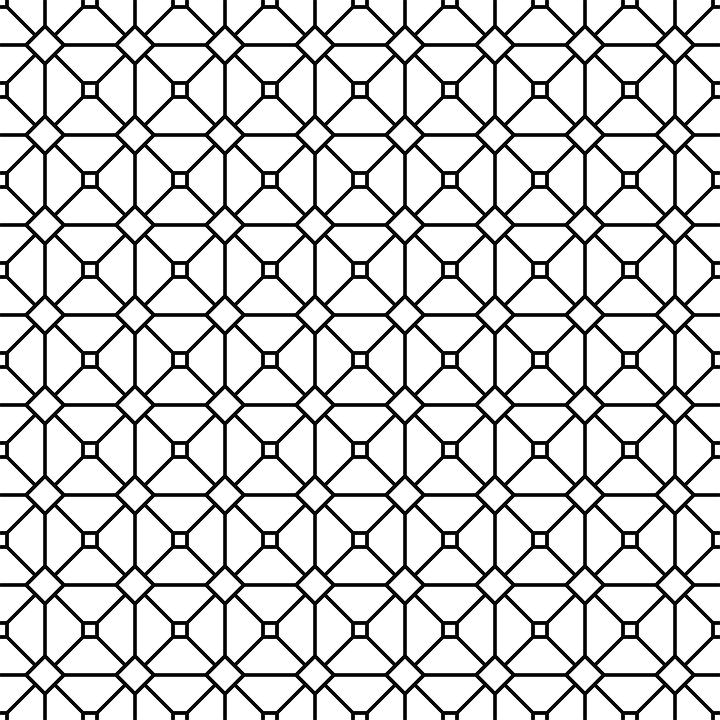Mesh Pattern Grid.