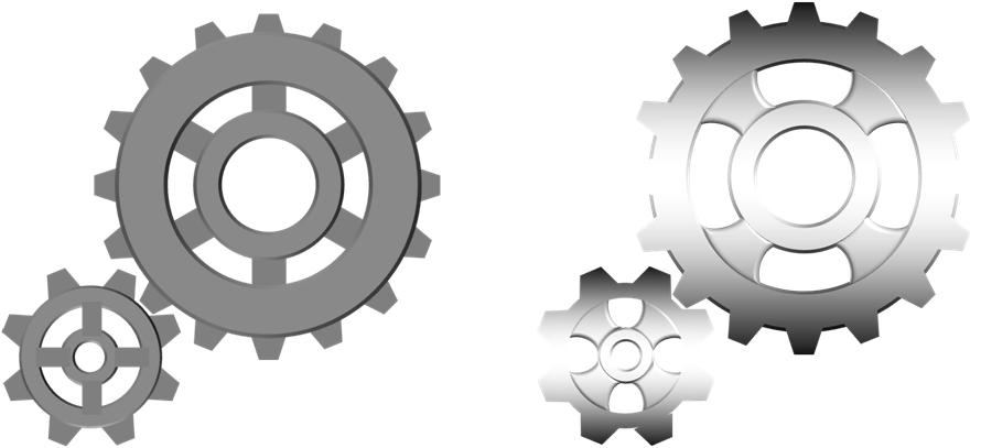 Drawing and Animating Gears in PowerPoint.