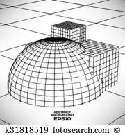 Meshwork Clipart Royalty Free. 27 meshwork clip art vector EPS.