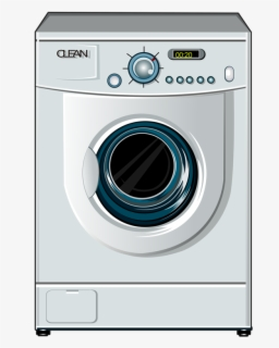 Free Washing Machines Clip Art with No Background.
