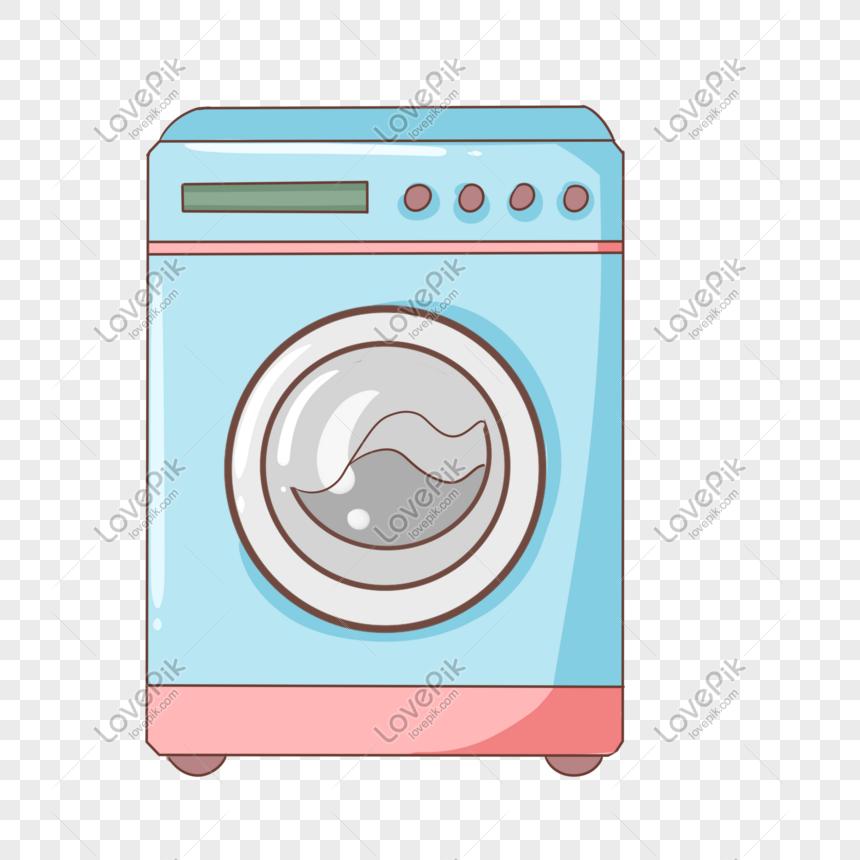 mesin cuci otomatis biru gambar unduh gratis_ Grafik.