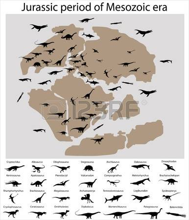 268 Mesozoic Era Stock Vector Illustration And Royalty Free.