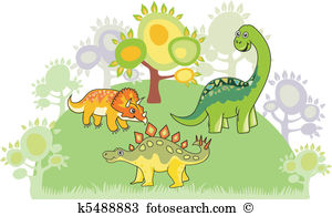 Mesozoic Clip Art and Illustration. 309 mesozoic clipart vector.