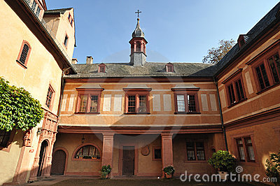 The Spessart Museum, Snow White Castle In Lohr Am Main, Germany.