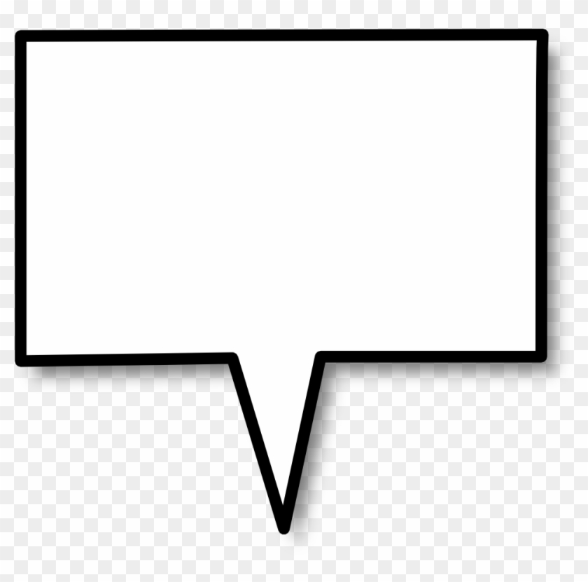 Download Square Speech Bubble Clipart Speech Balloon.