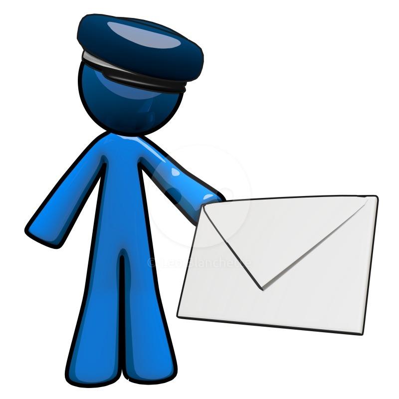 To Send a Message Clip Art.
