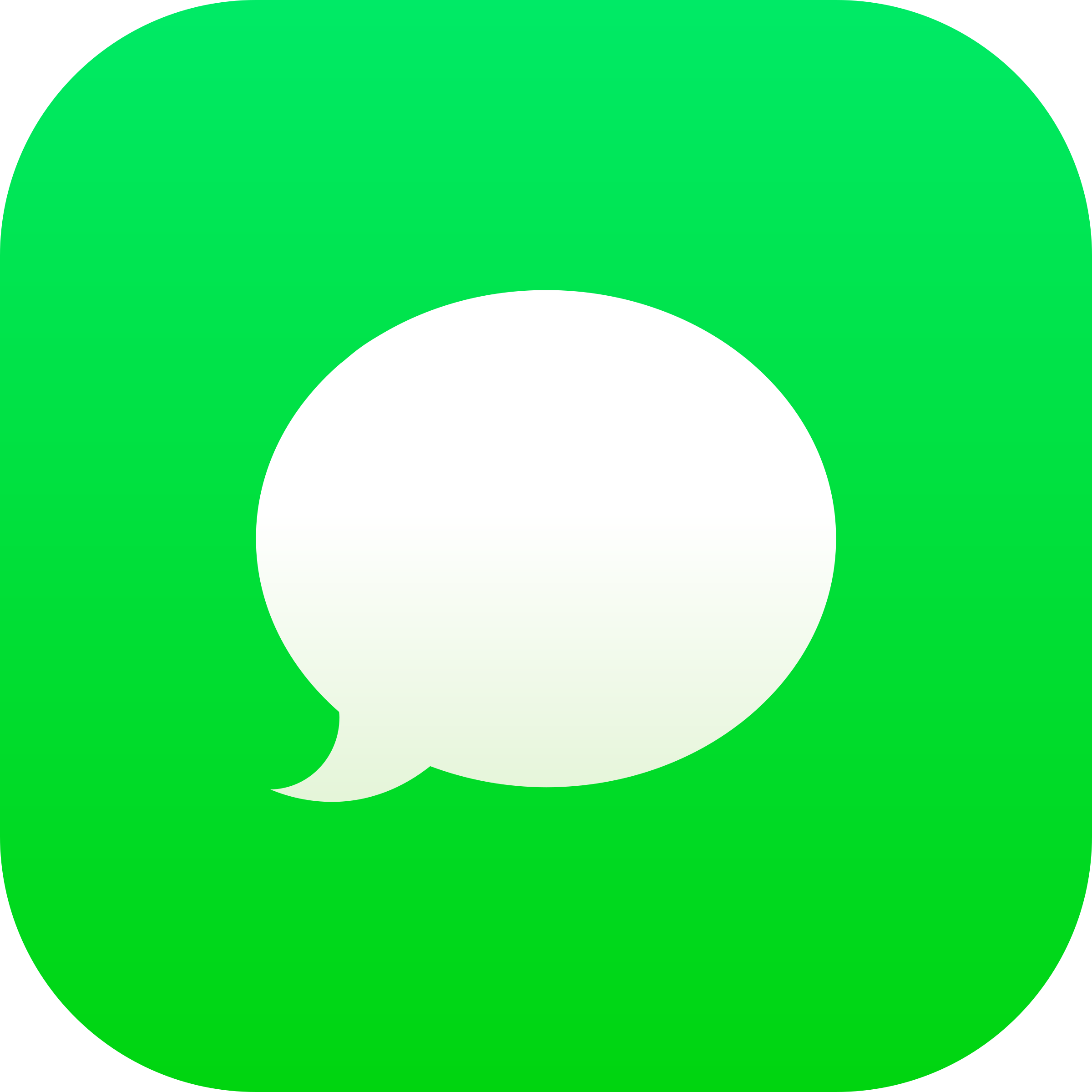 Messages iOS Logo PNG Transparent & SVG Vector.