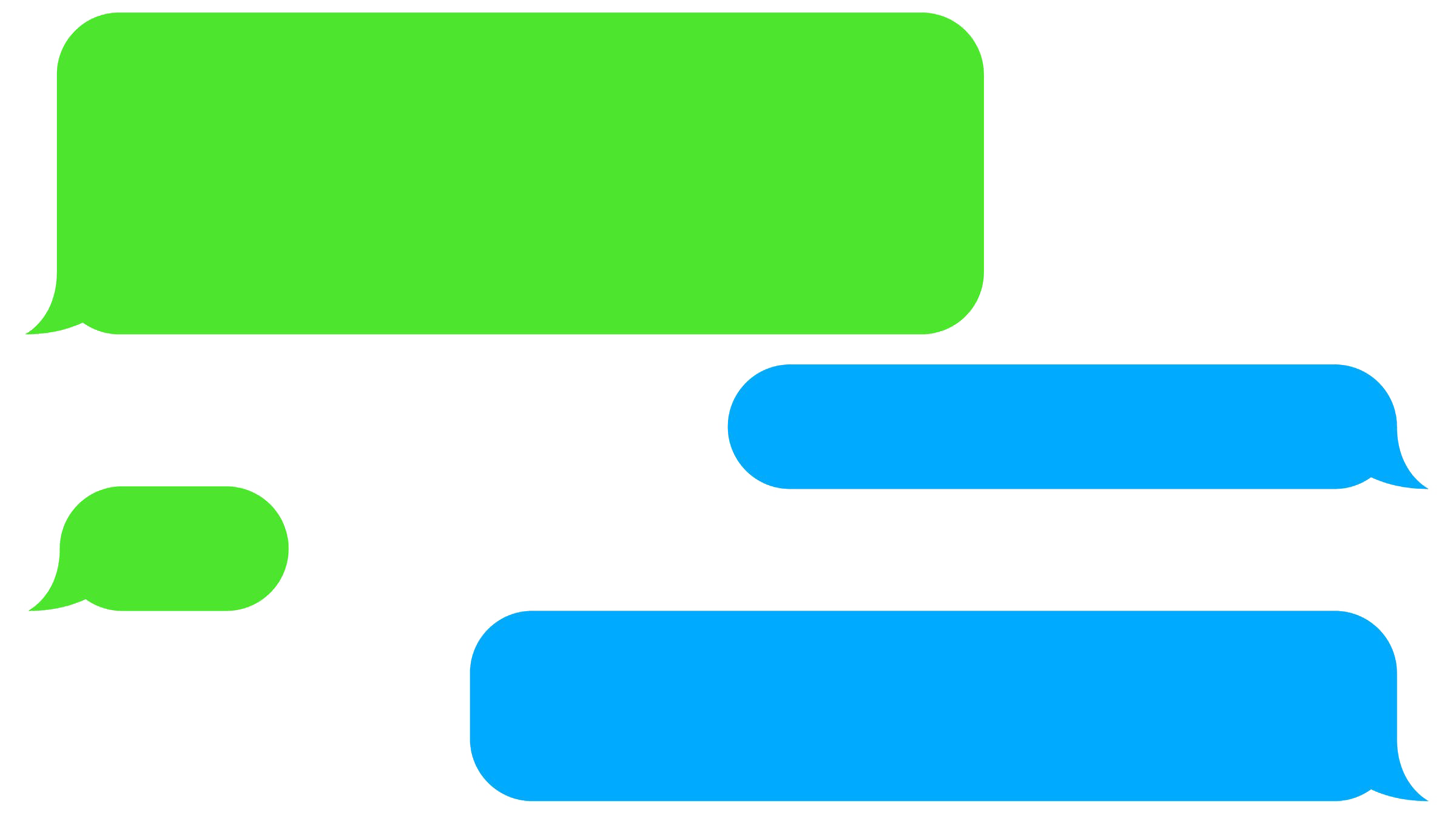 Text Message PNG Images Transparent Free Download.