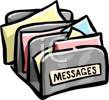 Messages clipart.