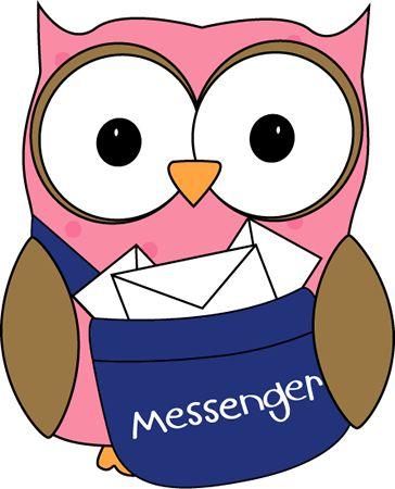 Class messenger clipart.