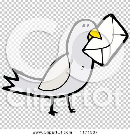 Cartoon of a Messenger Bird.