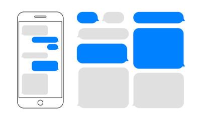 Text Message Bubble photos, royalty.