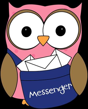 Messenger Clipart#1903149.
