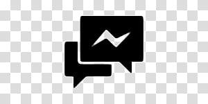 Minimal JellyLock, white Messenger Lite transparent.