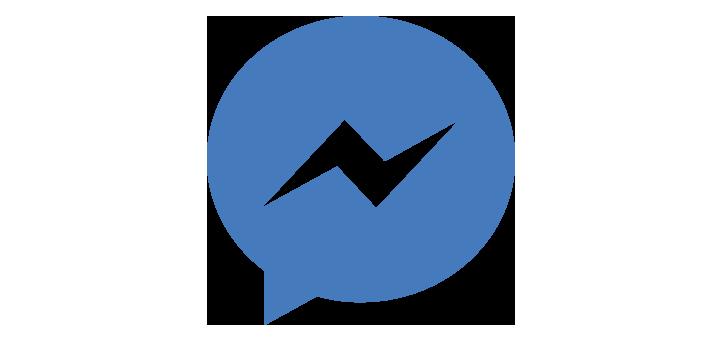 Facebook Messenger PNG Logo Pictures, Facebook Customer Chat.