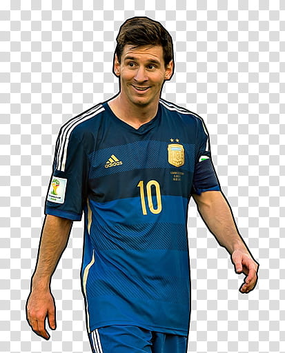 Leo Messi Argentina transparent background PNG clipart.