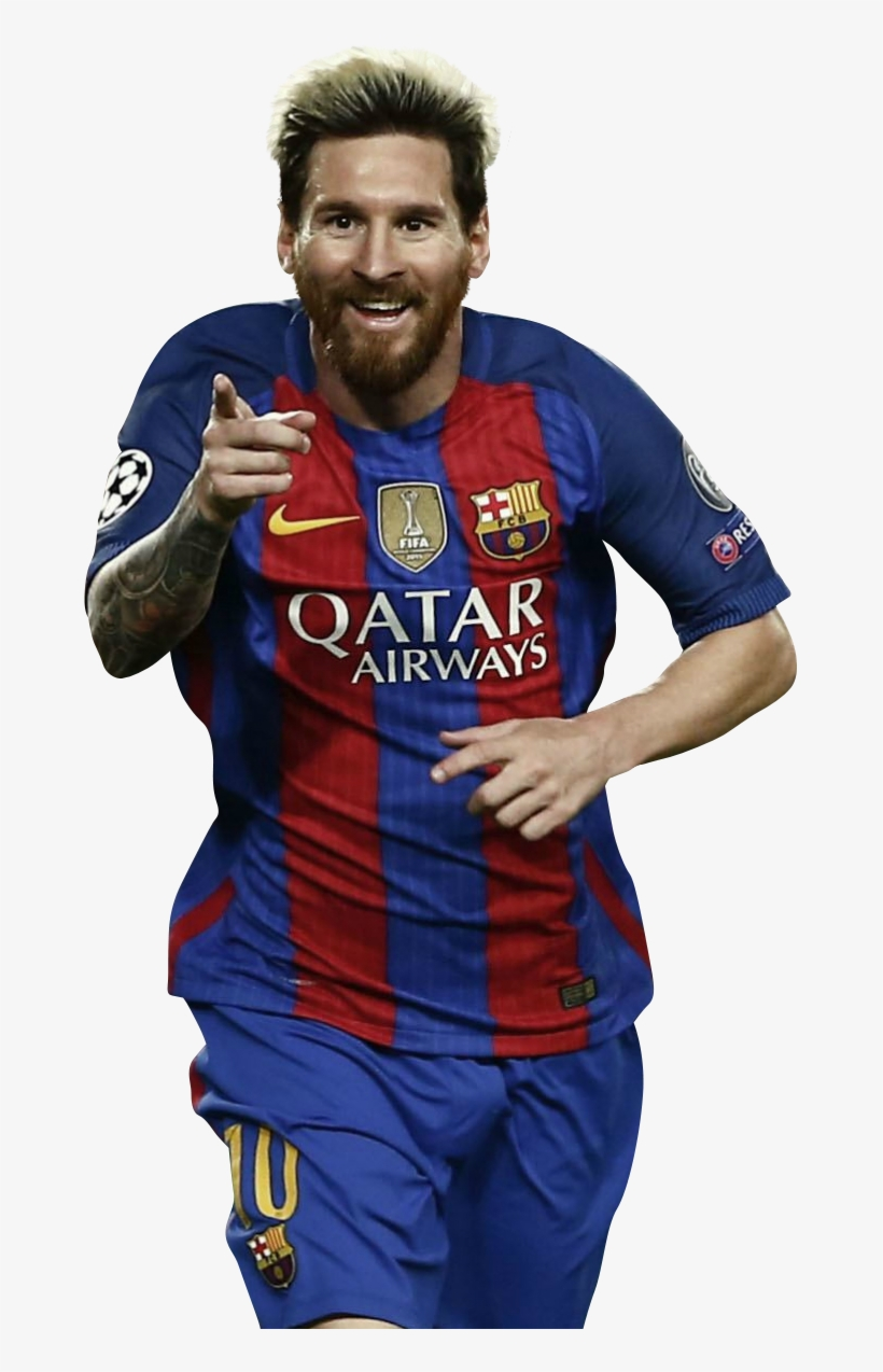 Lionel Messi Render.