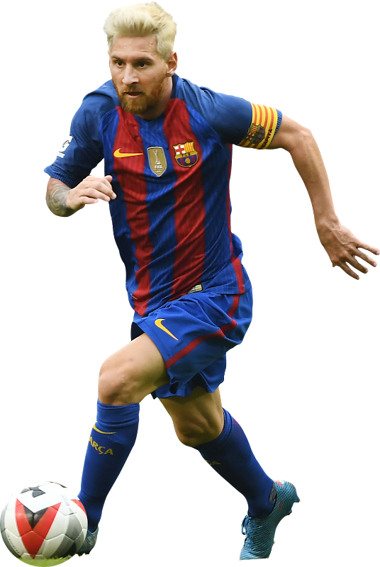 Lionel Messi Barcelona 2017 Png Clipart Image.