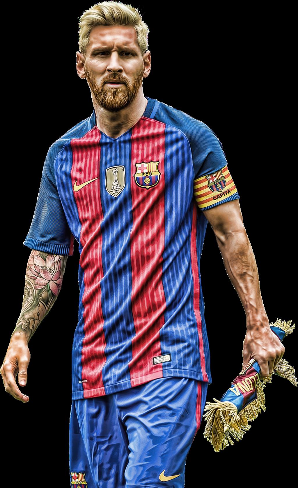 Lionel Messi Png Barca 2017 2018.