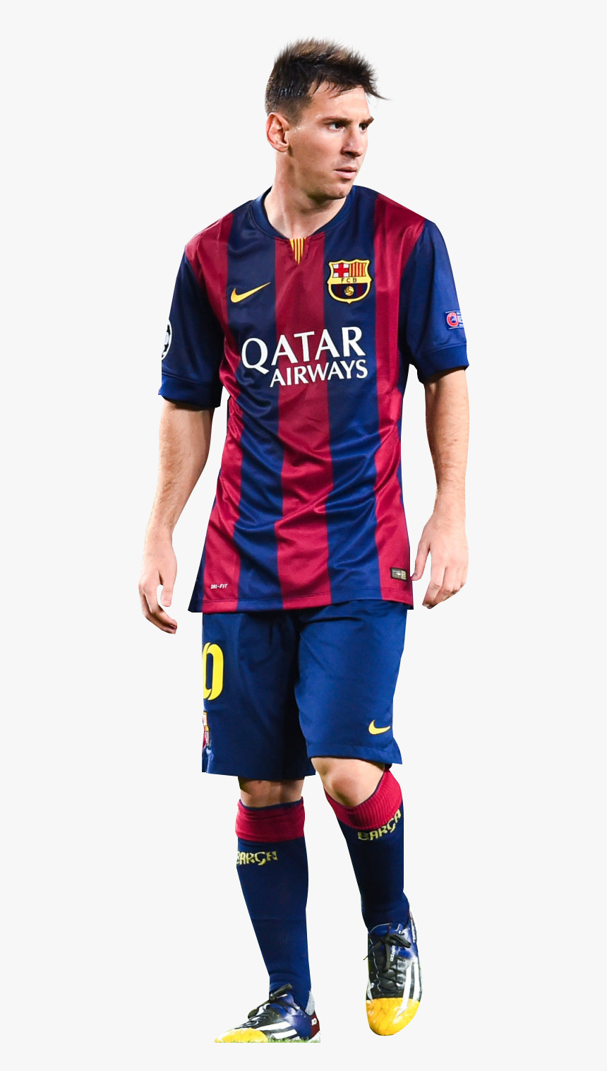 Messi Football Barcelona Player Fc Sport Jersey Clipart.