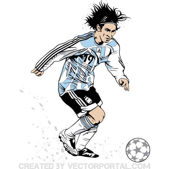 104+ Lionel Messi Clipart.