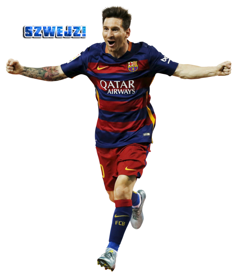 Lionel Messi PNG Image.